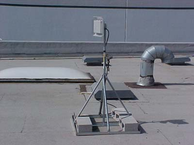 Non Penetrating Roof Mount Install Diagram